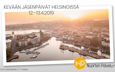 Kevään jäsenpäivät Helsingissä 12. – 13.4.2019