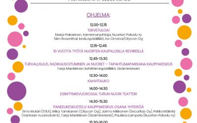 Nuorten reviireillä juhlaseminaari Espoossa 6.6.2019