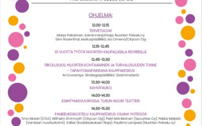 Nuorten reviireillä -juhlaseminaari 24.10.2019 Espoossa