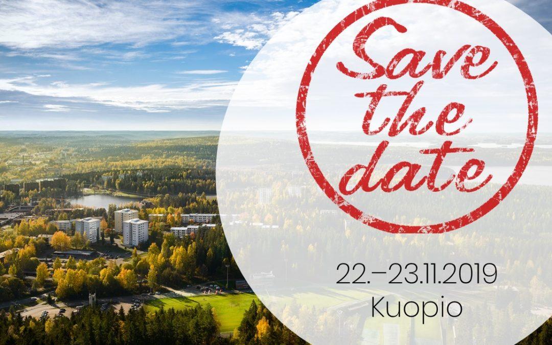 Syksyn jäsenpäivät Kuopiossa 22. – 23.11.2019