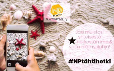 Jaa tähtihetkesi NP:n 50-vuotiselta taipaleelta ja voit voittaa elämyksellisen palkinnon